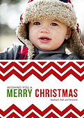 Chevron Christmas - Front