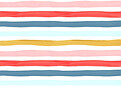 Hello Stripes Colorful - Back