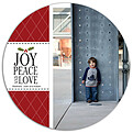 Joy Peace and Love Circle - Front
