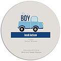 Precious Cargo Blue Circle - Back