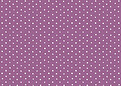 Swiss Dot RSVP Purple - Back