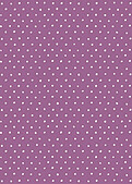 Swiss Dot Date Purple - Back