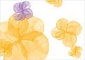 Floral Watercolor RSVP - Back