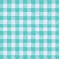 Plaid Pictage Aqua Square - Back