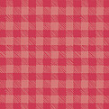 Plaid Pictage Red Square - Back