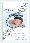 Bubbly Frame Blue Gray - Back