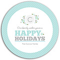 Family Wishes Seafoam Circle - Back