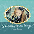 Seasons Teal & Tiffany Square - Front