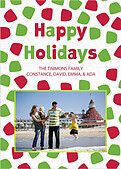 Mosaic Holiday - Front