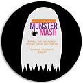 Monster Mash Pink Circle - Front