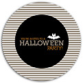 Spooky Time Gray Circle - Front