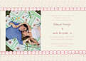 Bubbles Invitation Pink - Front