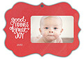 Good Tidings Red Ornate - Front
