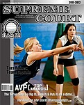 Volleyball Black - Front