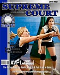 Volleyball Blue - Front