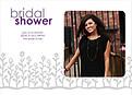 Flower Garden Shower Gray Purple - Front