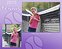 Tennis Purple - Front