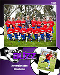 Soccer Purple - Front