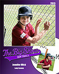 Softball Purple - Front