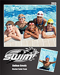 Swimming Black - Front