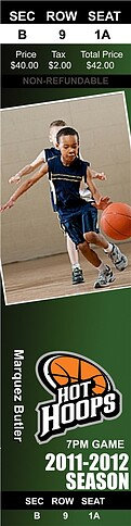 Basketball Green - Front