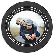 Chalky Frame Circle - Back