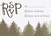 Forest Landscape RSVP Neutral - Front