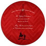 Gift of Christmas Circle - Back