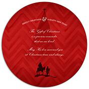 Gift of Christmas Circle - Back