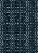 Handkerchief Navy Birth Announcements Flat Cards - Back