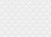 Scalloped Pattern Reception Flat Cards - Back