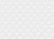 Scalloped Pattern Wedding Invites Flat Cards - Back