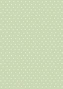 Swiss Dot Date Green - Back