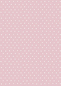 Swiss Dot Date Pink Save the Date Flat Cards - Back