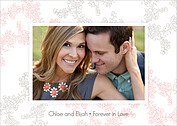 Forever In Love Invitation Wedding Invites Flat Cards - Back