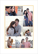 Love Sweet Love Date Save the Date Flat Cards - Back