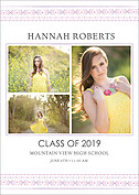 Shining Moments Graduation Flat Cards - Front