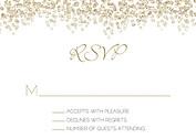Dazzling RSVP Gold - Front