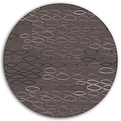 Merry Waves Chalkboard Circle - Back