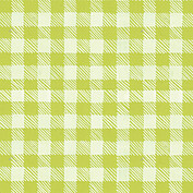 Plaid Pictage Green Square - Back