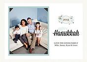 Hanukkah Wishes Eggshell - Front