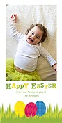 Easter Eggs Easter Photo Cards - Vertical