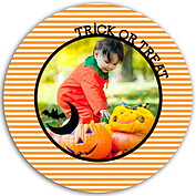 Batty Tricks Orange Circle - Back
