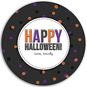Confetti Trio Gray 1 Circle - Back