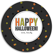 Confetti Trio Gray 2 Circle - Back