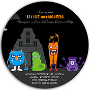 Little Monsters Circle - Front