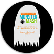 Monster Mash Blue Circle - Front