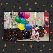 Confetti Trio Gray 2 Square - Back