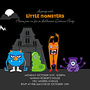 Little Monsters Square - Front
