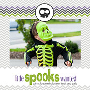 Spooks Wanted Square - Front